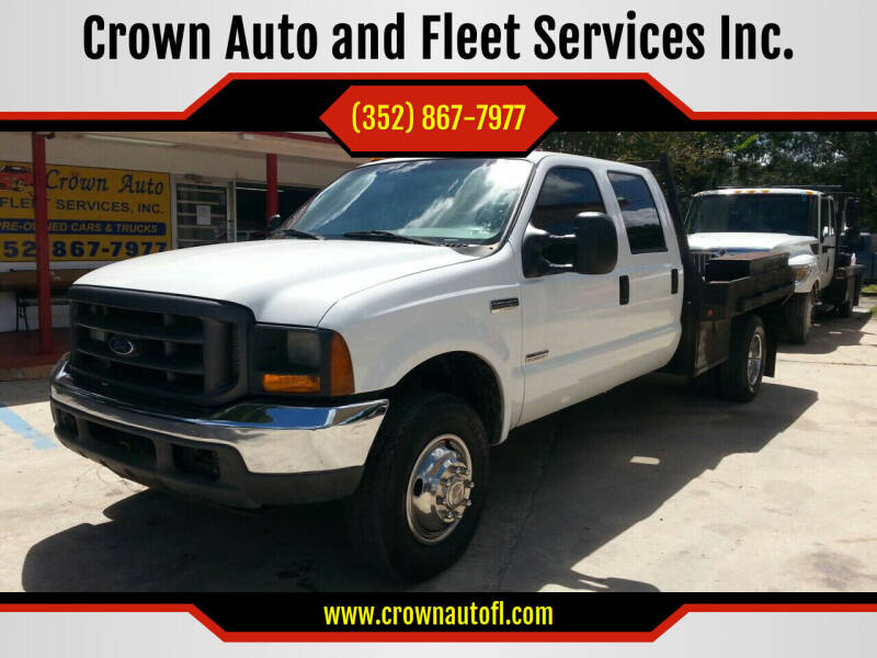 2005 Ford F-350 Super Duty for sale at Crown Auto and Fleet Services Inc. in Ocala FL