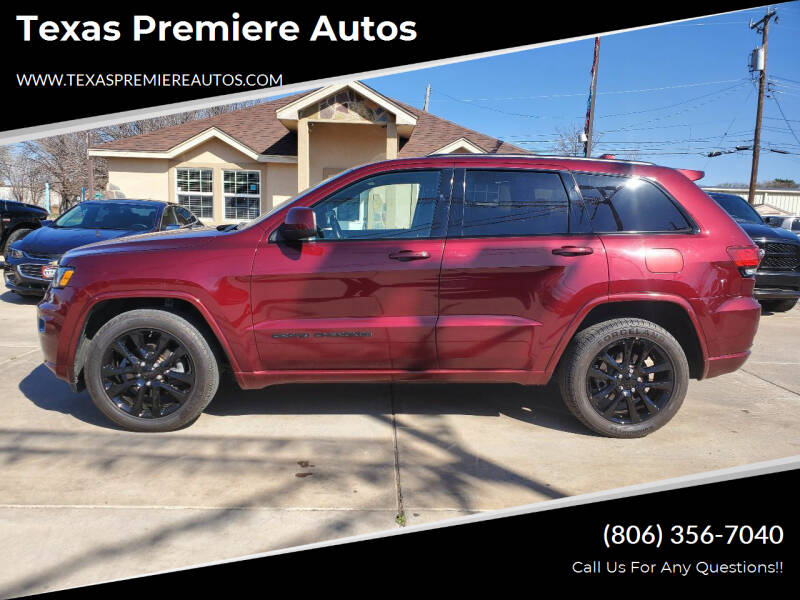 2017 Jeep Grand Cherokee for sale at Texas Premiere Autos in Amarillo TX
