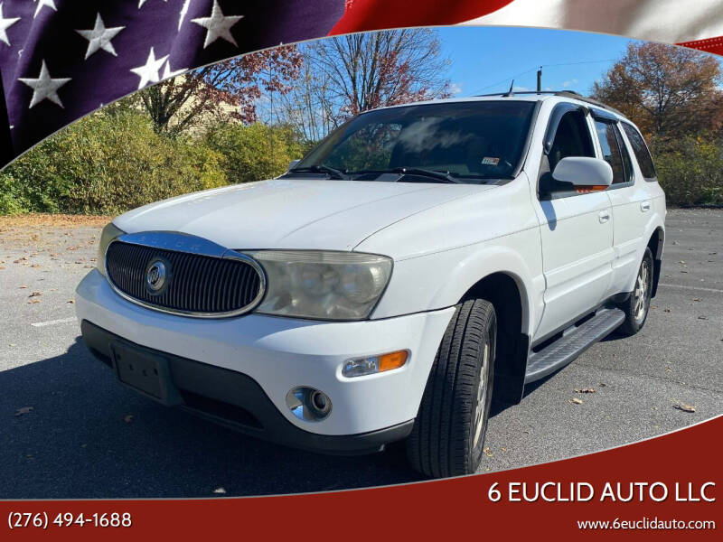 2004 Buick Rainier for sale at 6 Euclid Auto LLC in Bristol VA
