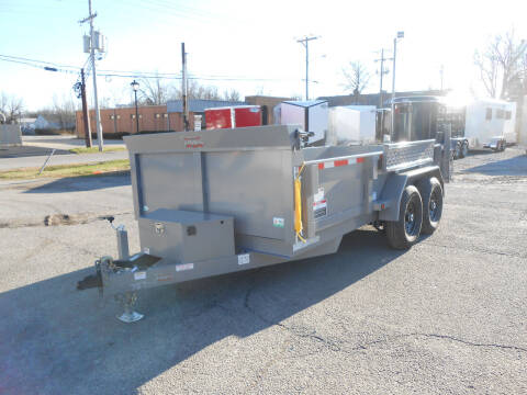 """2021 Forest River Force Dump Trailer 6'8""""x14 for sale at Jerry Moody Auto Mart - Trailers in Jeffersontown KY"""