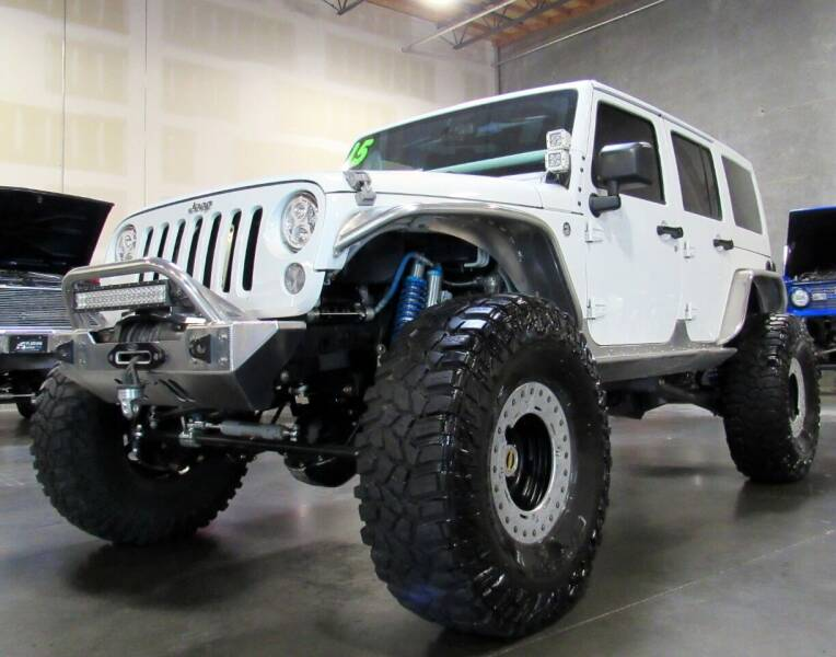 2015 Jeep Wrangler JK Unlimited for sale at Platinum Motors in Portland OR