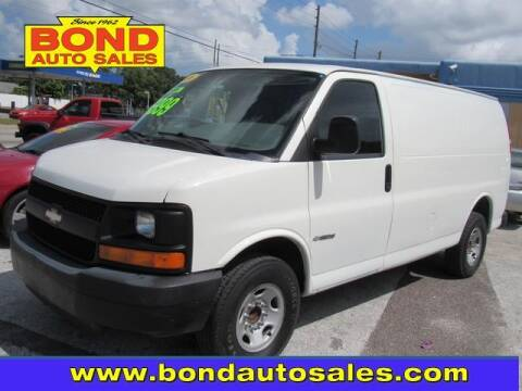 2006 Chevrolet Express Cargo for sale at Bond Auto Sales in St Petersburg FL