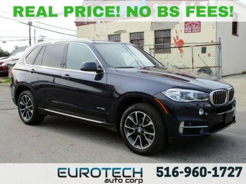 2018 BMW X5 for sale at EUROTECH AUTO CORP in Island Park NY