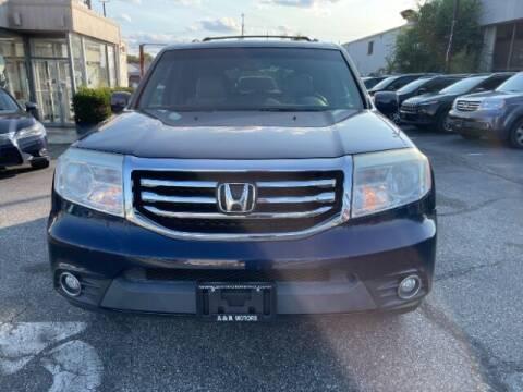 2014 Honda Pilot for sale at A&R Motors in Baltimore MD