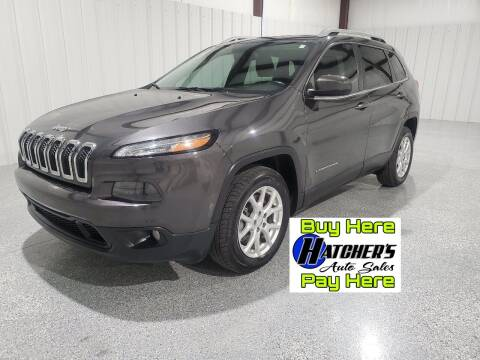 2015 Jeep Cherokee for sale at Hatcher's Auto Sales, LLC - Buy Here Pay Here in Campbellsville KY