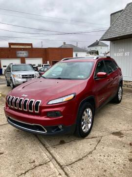 2015 Jeep Cherokee for sale at Stephen Motor Sales LLC in Caldwell OH