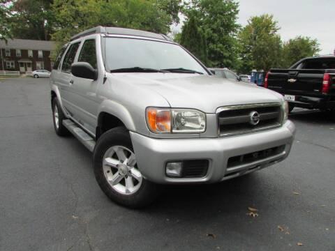 2003 Nissan Pathfinder for sale at K & S Motors Corp in Linden NJ