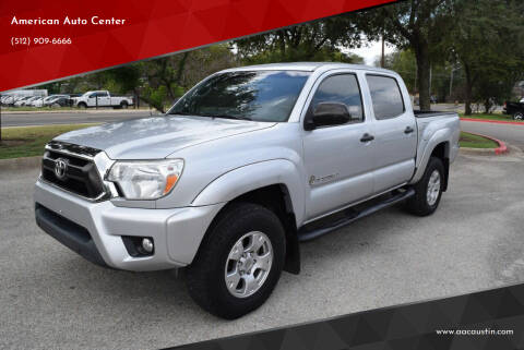 2013 Toyota Tacoma for sale at American Auto Center in Austin TX
