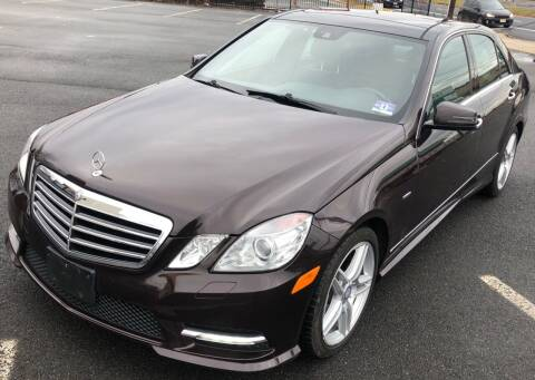 2012 Mercedes-Benz E-Class for sale at MAGIC AUTO SALES - Magic Auto Prestige in South Hackensack NJ