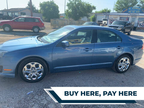 2010 Ford Fusion for sale at WF AUTOMALL in Wichita Falls TX