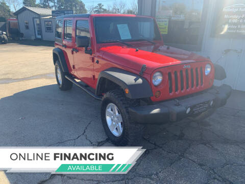 2013 Jeep Wrangler Unlimited for sale at Rutledge Auto Group in Palestine TX