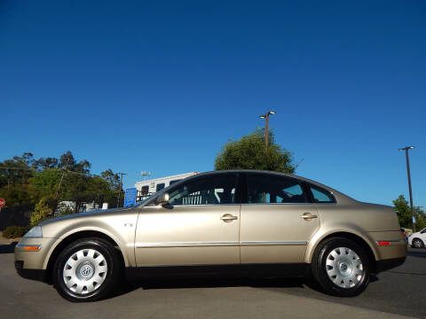2001 Volkswagen Passat for sale at Direct Auto Outlet LLC in Fair Oaks CA