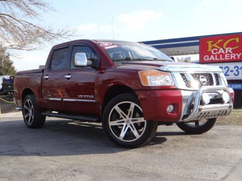 2008 Nissan Titan for sale at KC Car Gallery in Kansas City KS