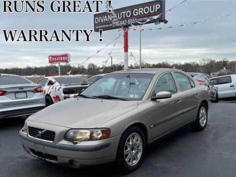 2004 Volvo S60 for sale at Divan Auto Group in Feasterville PA