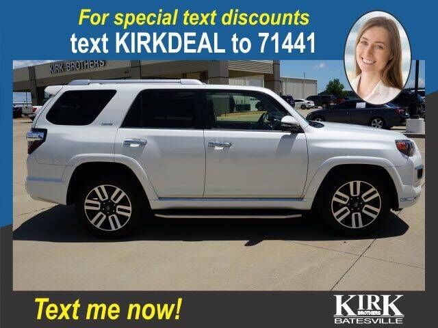 2018 Toyota 4Runner for sale at Kirk Brothers Batesville in Batesville MS