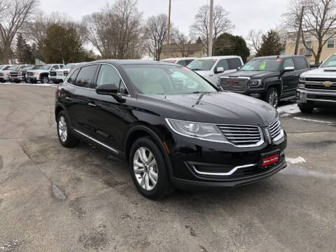 2017 Lincoln MKX for sale at WILLIAMS AUTO SALES in Green Bay WI