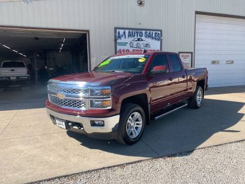 2015 Chevrolet Silverado 1500 for sale at A-1 AUTO SALES in Mansfield OH