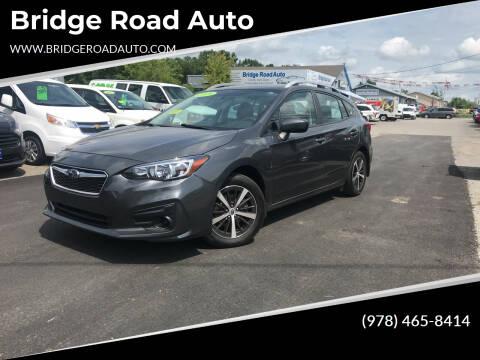 2019 Subaru Impreza for sale at Bridge Road Auto in Salisbury MA