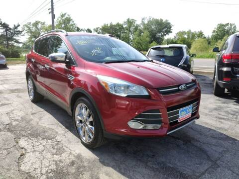 2014 Ford Escape for sale at Peter Kay Auto Sales in Alden NY