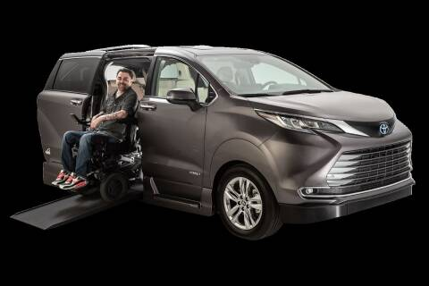 2021 Toyota Sienna for sale at Handicap of Jackson in Jackson TN