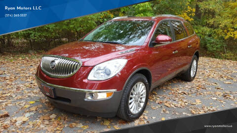 2010 Buick Enclave for sale at Ryan Motors LLC in Warsaw IN
