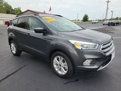 2017 Ford Escape for sale at Holland's Auto Sales in Harrisonville MO