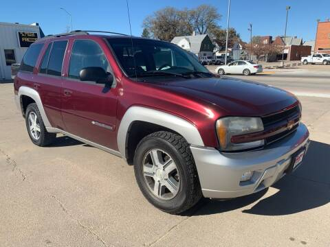 2004 Chevrolet TrailBlazer for sale at Spady Used Cars in Holdrege NE