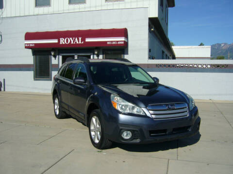 2014 Subaru Outback for sale at Royal Auto Inc in Murray UT