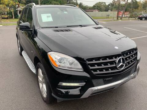 2012 Mercedes-Benz M-Class for sale at Consumer Auto Credit in Tampa FL