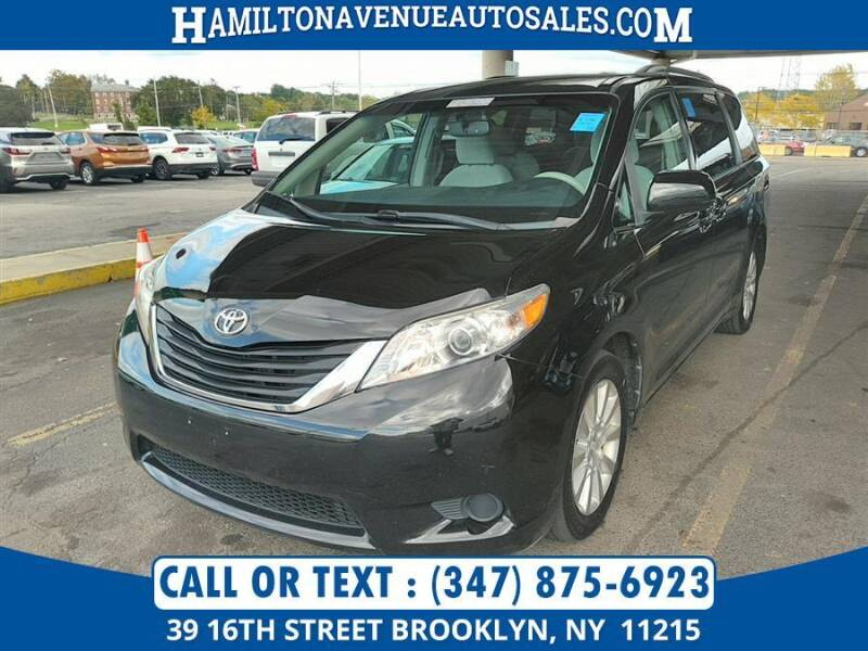 2011 Toyota Sienna for sale at Hamilton Avenue Auto Sales in Brooklyn NY