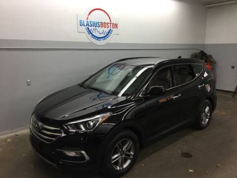 2017 Hyundai Santa Fe Sport for sale at WCG Enterprises in Holliston MA