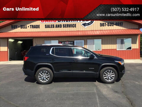 2019 GMC Acadia for sale at Cars Unlimited in Marshall MN