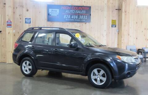 2012 Subaru Forester for sale at Boone NC Jeeps-High Country Auto Sales in Boone NC