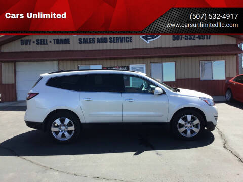 2014 Chevrolet Traverse for sale at Cars Unlimited in Marshall MN