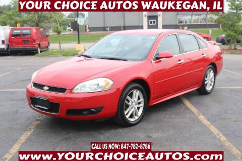 2013 Chevrolet Impala for sale at Your Choice Autos - Waukegan in Waukegan IL