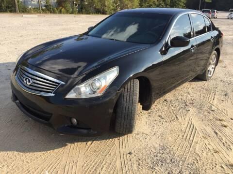 2011 Infiniti G37 Sedan for sale at Hwy 80 Auto Sales in Savannah GA