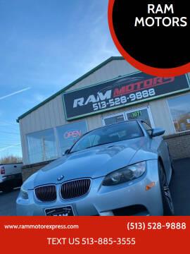 2009 BMW M3 for sale at RAM MOTORS in Cincinnati OH