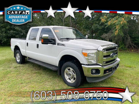2014 Ford F-250 Super Duty for sale at J & E AUTOMALL in Pelham NH