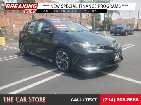 2018 Toyota Corolla iM for sale at The Car Store in Santa Ana CA