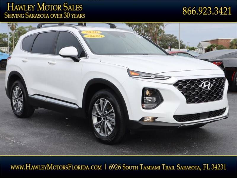 2020 Hyundai Santa Fe for sale at Hawley Motor Sales in Sarasota FL