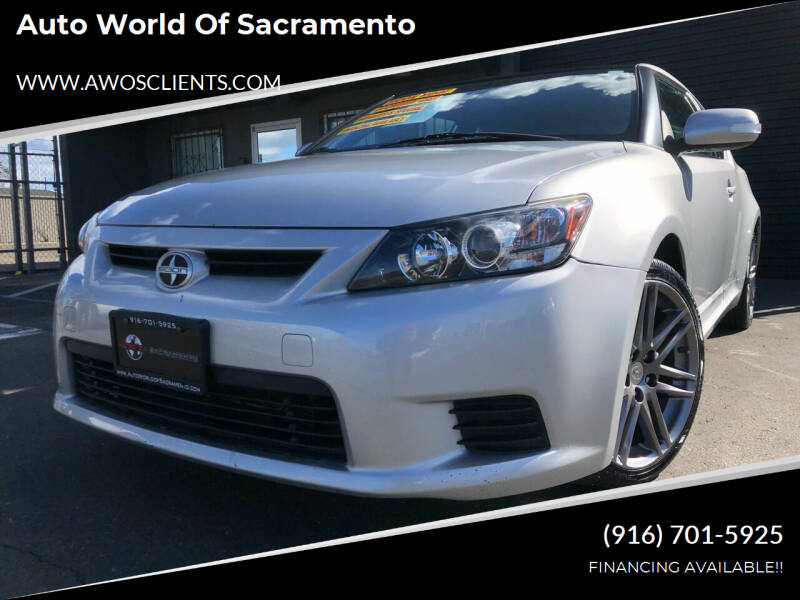 2011 Scion tC for sale at Auto World of Sacramento Stockton Blvd in Sacramento CA