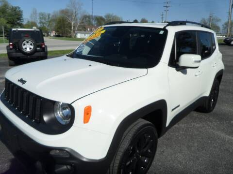 2017 Jeep Renegade for sale at CARSON MOTORS in Cloverdale IN