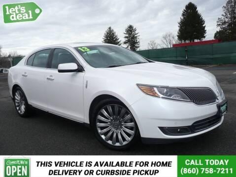 2013 Lincoln MKS for sale at Shamrock Motors in East Windsor CT