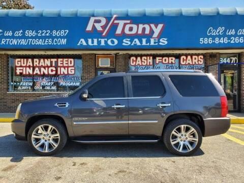 2010 Cadillac Escalade for sale at R Tony Auto Sales in Clinton Township MI