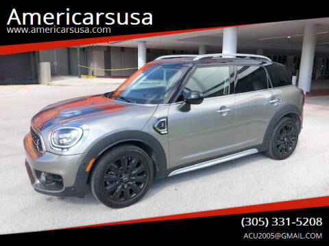 2018 MINI Countryman for sale at Americarsusa in Hollywood FL