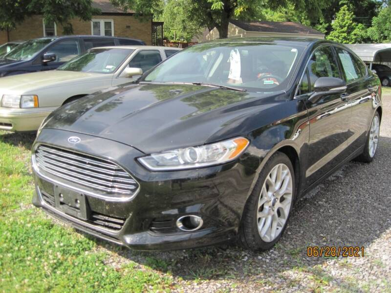 2014 Ford Fusion for sale at Lang Motor Company in Cape Girardeau MO