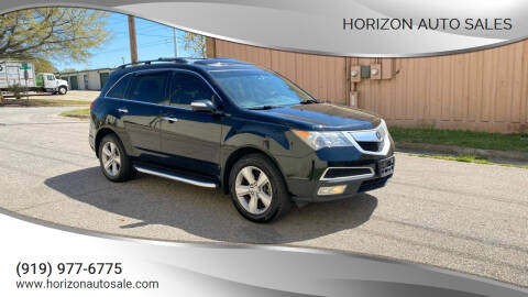 2010 Acura MDX for sale at Horizon Auto Sales in Raleigh NC