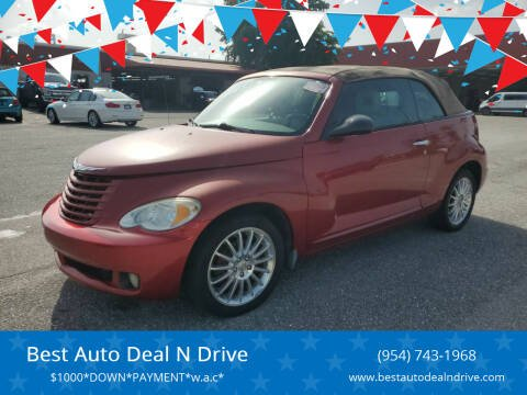 2008 Chrysler PT Cruiser for sale at Best Auto Deal N Drive in Hollywood FL