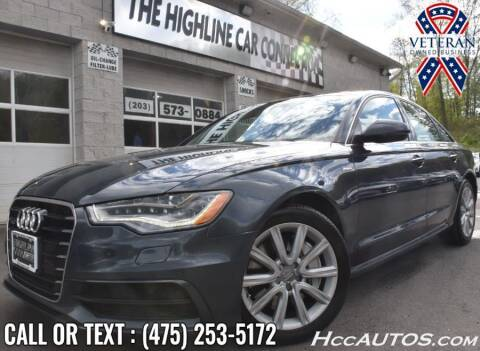 2015 Audi A6 for sale at The Highline Car Connection in Waterbury CT