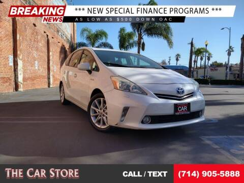 2012 Toyota Prius v for sale at The Car Store in Santa Ana CA